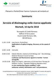 Servizio di Bioimaging nella ricerca applicata